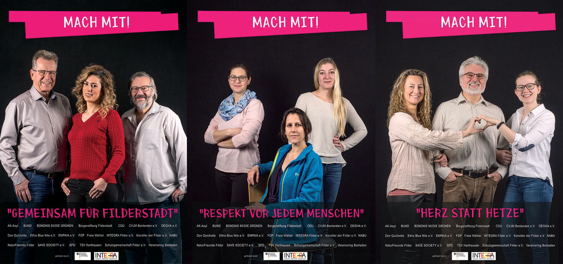 Plakat Aktion Filderstadt