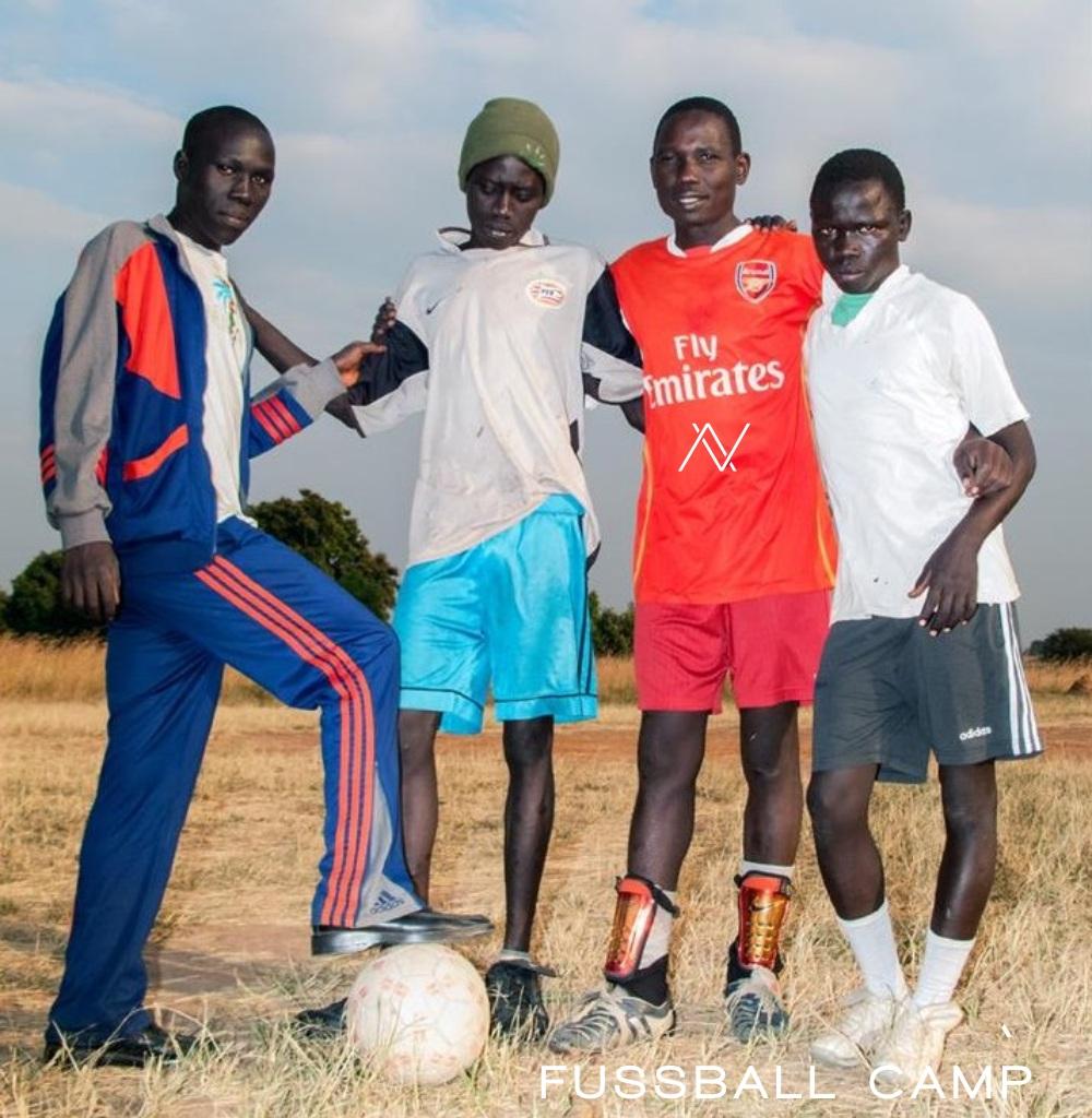 Afrika Fußball Kinder Camp