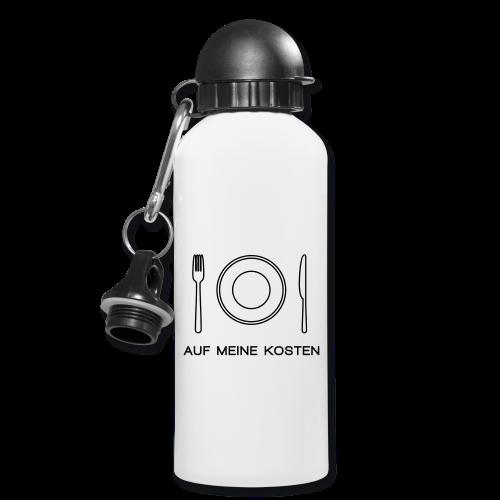 Auf meine Kosten - Trinkflasche - Diskriminierung, Mobbing, Altersarmut, Respekt, Toleranz