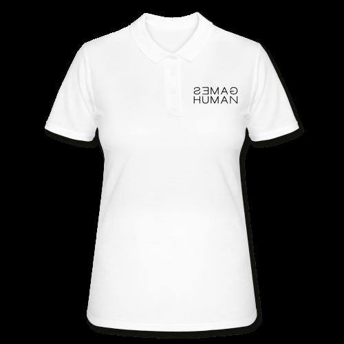 Human Games - Poloshirt - Diskriminierung, Mobbing, Altersarmut, Respekt, Toleranz