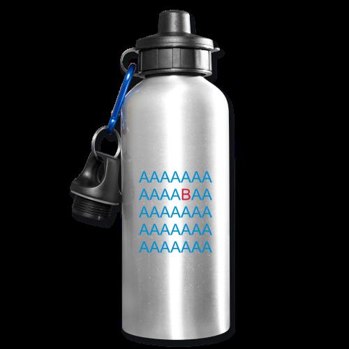 AAAAABA - Trinkflasche - Diskriminierung, Mobbing, Altersarmut, Respekt, Toleranz