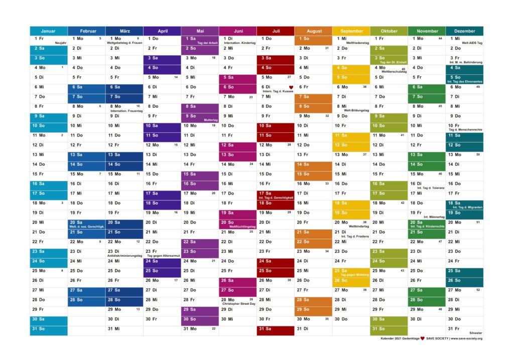 Kalender 2021 A4